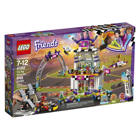 *LEGO Friends The Big Race Day