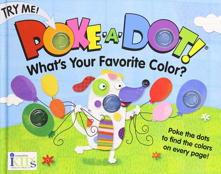 *Melissa & Doug Innovative Kids Poke-A-Dot Poppers Book - What's Your Favorite Color?
