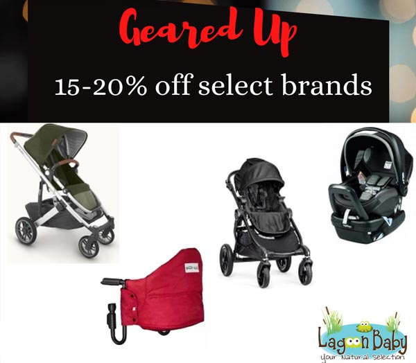 Lagoon Baby's 9th Annual Blackout SALE - Geared UP!