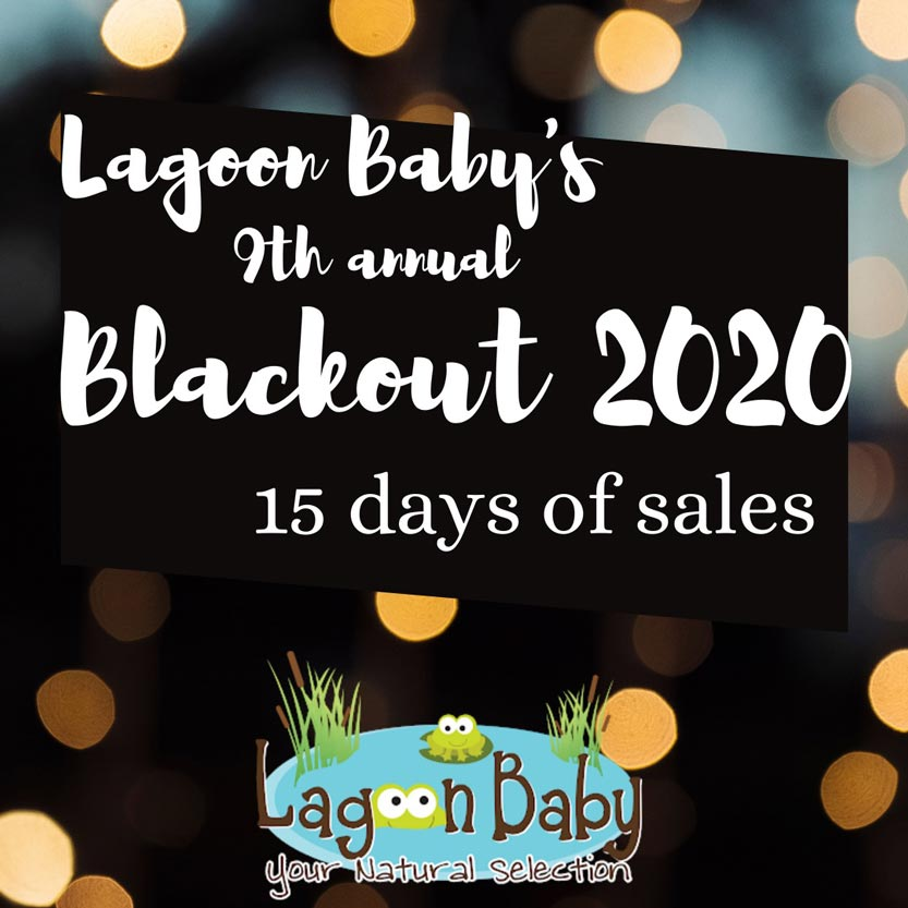 Lagoon Baby's 9th Annual Blackout Sale!