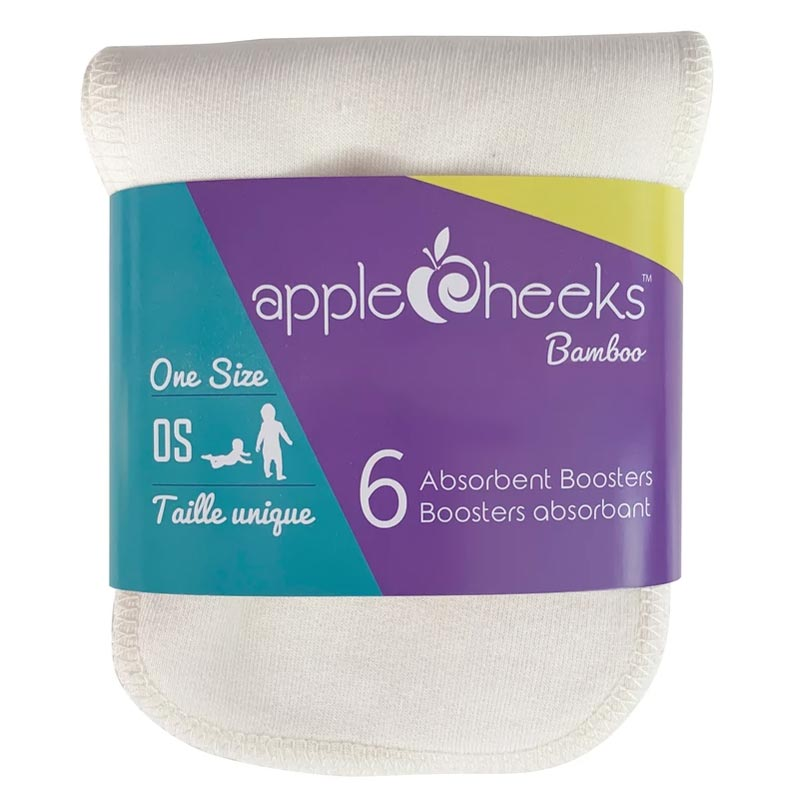 AppleCheeks Rayon from Bamboo Booster - 6 Pack