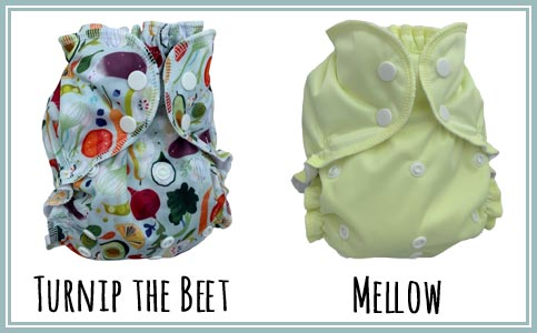 Turnip the Beet & Mellow AppleCheeks - New at Lagoon Baby!