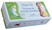 AMP One-Size Duo Diaper Kit - Bamboo
