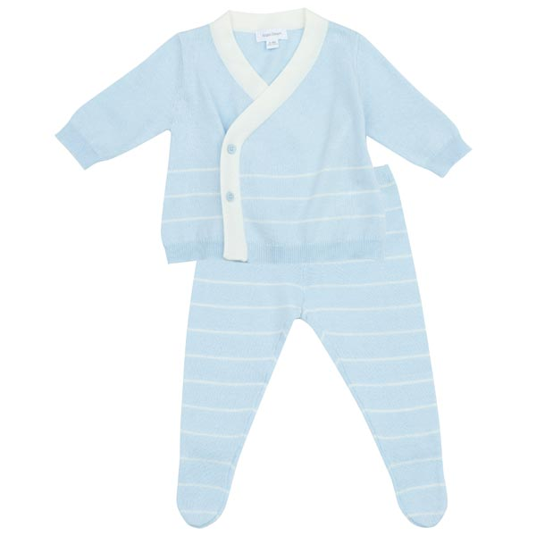 Angel Dear Euro Knit Take Me Home Set - Light Blue