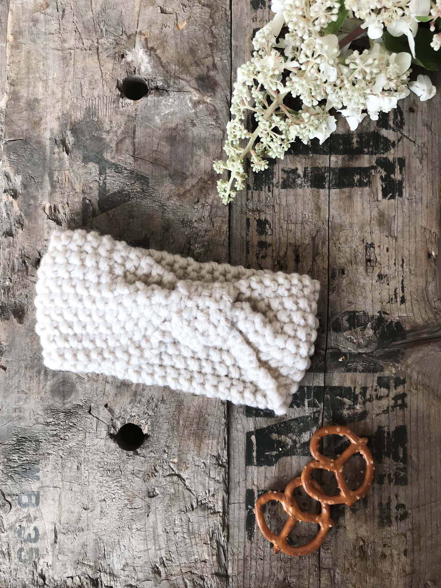 *Mini Bretzel Warm Headband