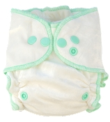Nuggles! Naturals BambooLUXE 2.0 Fitted Cloth Diaper