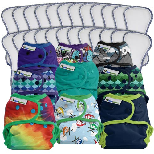 Best Bottom Cloth Diaper - Full Package