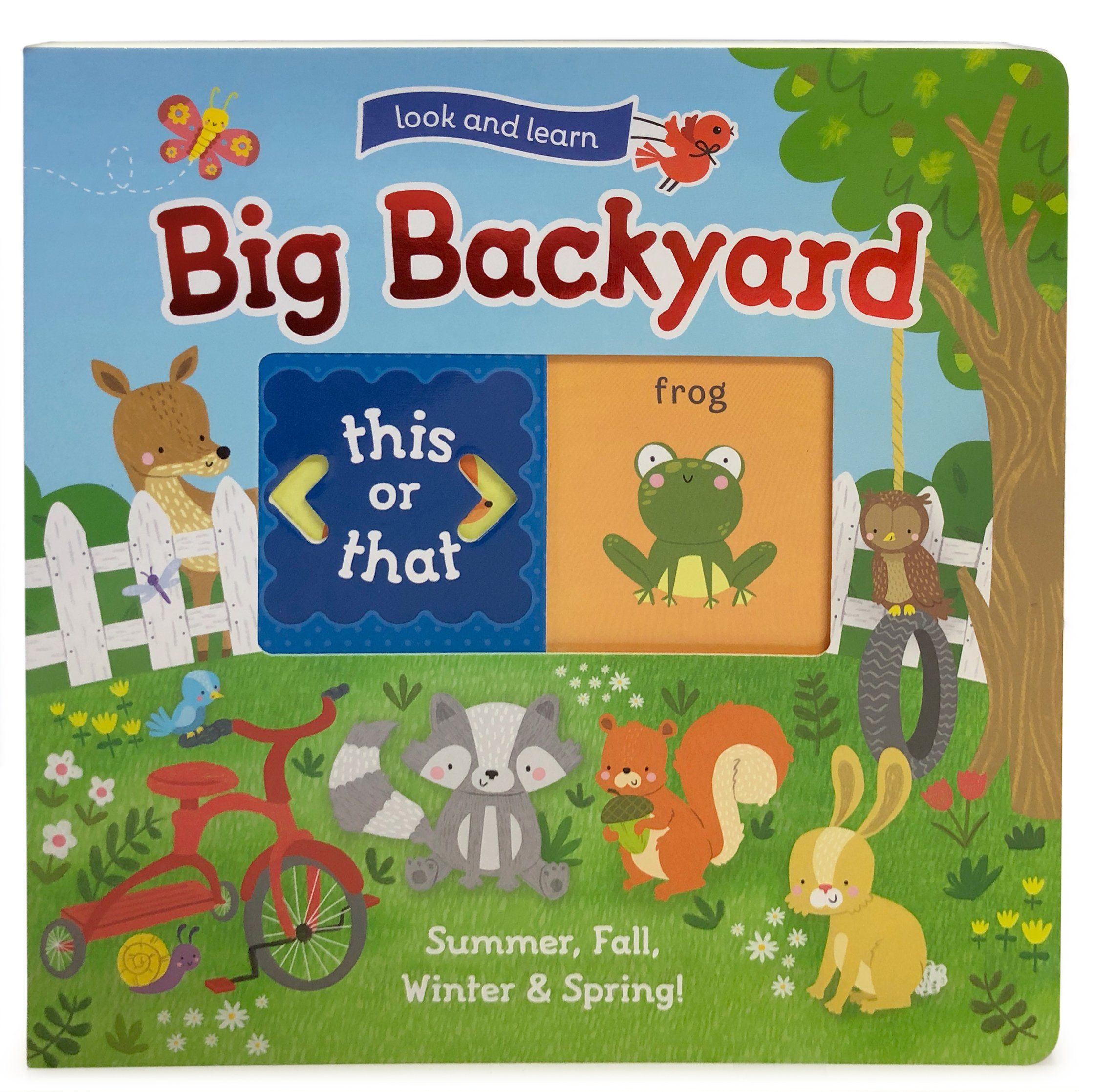 *Big Backyard Summer,Fall, Winter & Spring Book
