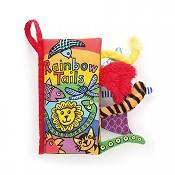 *Jellycat Soft Activity Book - Rainbow Tails