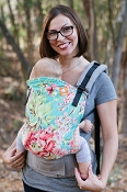 * Tula Ergonomic Baby Carrier - Bliss Bouquet - Standard Size
