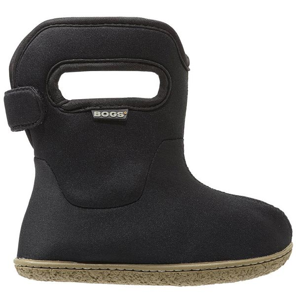 Bogs Baby Bogs Black Waterproof Boots