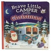 Brave Little Campber Saves Christmas Square Padded Board Picture Book