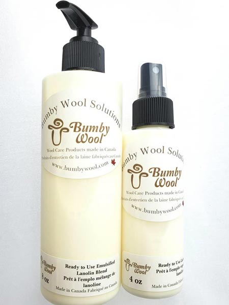 Bumby Wool Solutions – 8 oz Ready to Use Emulsified Blend