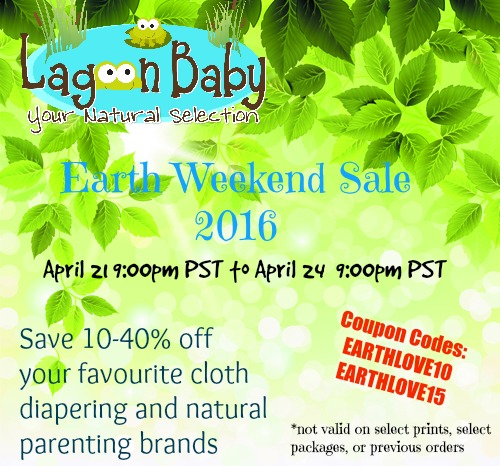 earth day sales cloth diapers