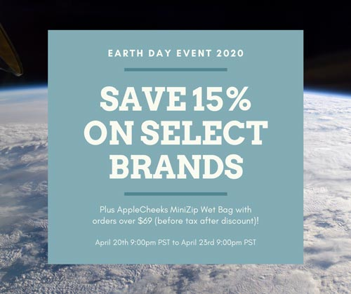 Lagoon Baby Earth Day Event 2020 - Huge Cloth Diaper Sale, KicKee Pants sale, and more!