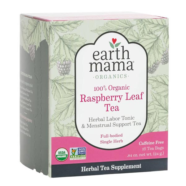 *Earth Mama Organic Raspberry Leaf Tea