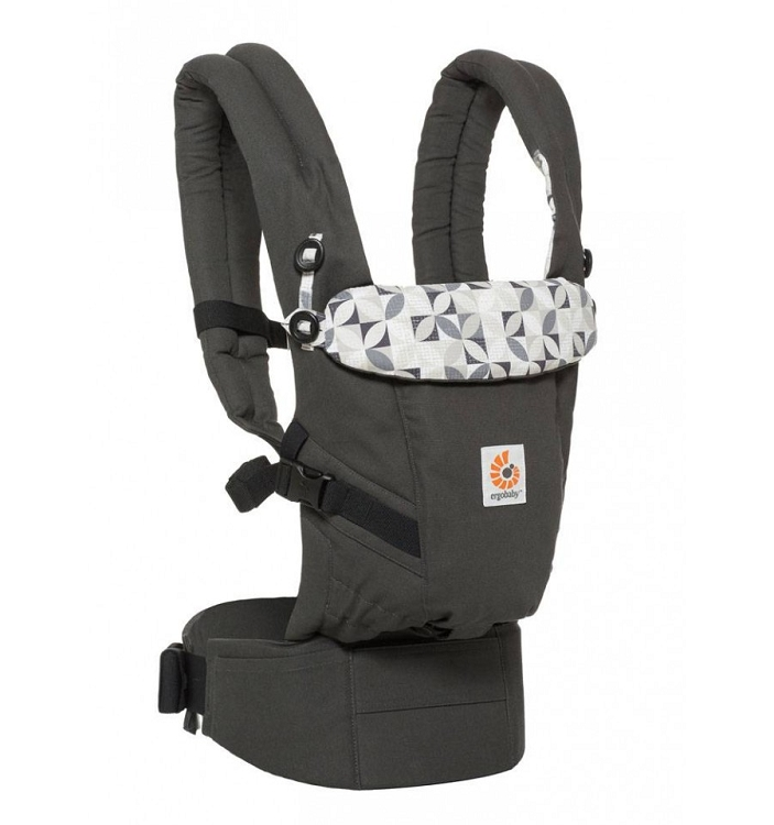 *Ergobaby ADAPT Baby Carrier - Graphic Grey