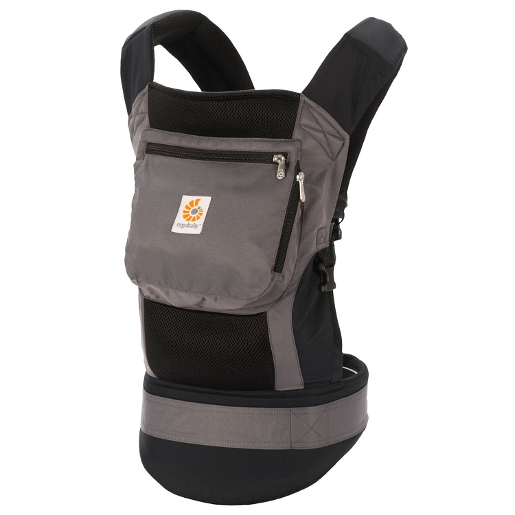 *Ergobaby Performance Carrier - Black/Charcoal