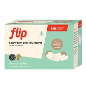 Flip Stay Dry Inserts  - Newborn - 6 Pack
