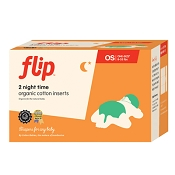 Flip Night Time Organic Cotton Inserts - 2 Pack