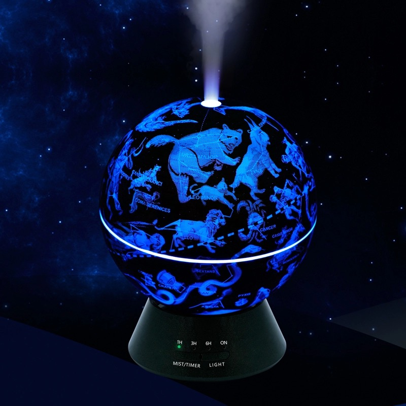 *Healing Hollow Globe Aromatherapy Humidifier *CLEARANCE*