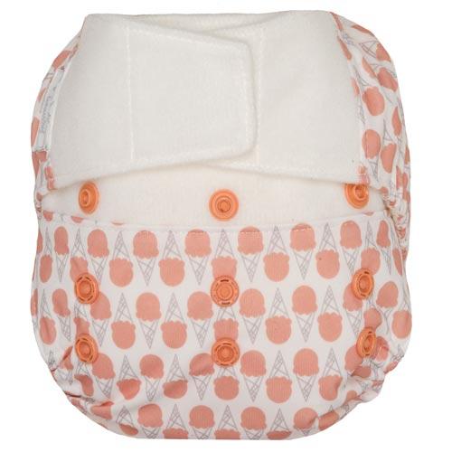 GroVia Reusable Hybrid Baby Cloth Diaper Snap Shell One Size