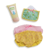 *Manhattan Toy Company Wee Baby Stella Diaper Changing Set