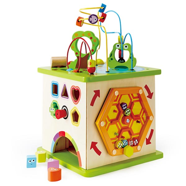 *Hape Country Critters Play Cube