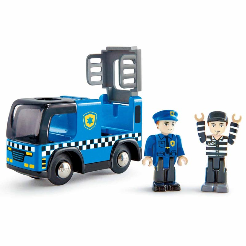 *Hape Police Car with Siren