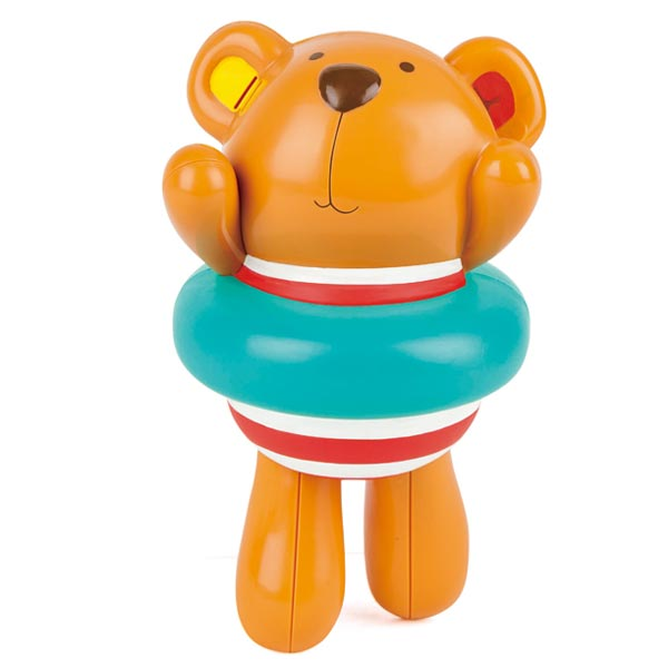 *Hape Swimmer Teddy Wind Up Toy