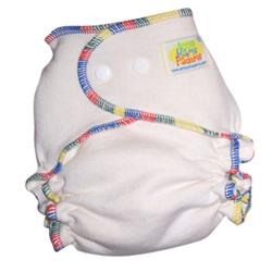Amp Hemp Fitted Cloth Diaper Made In Canada