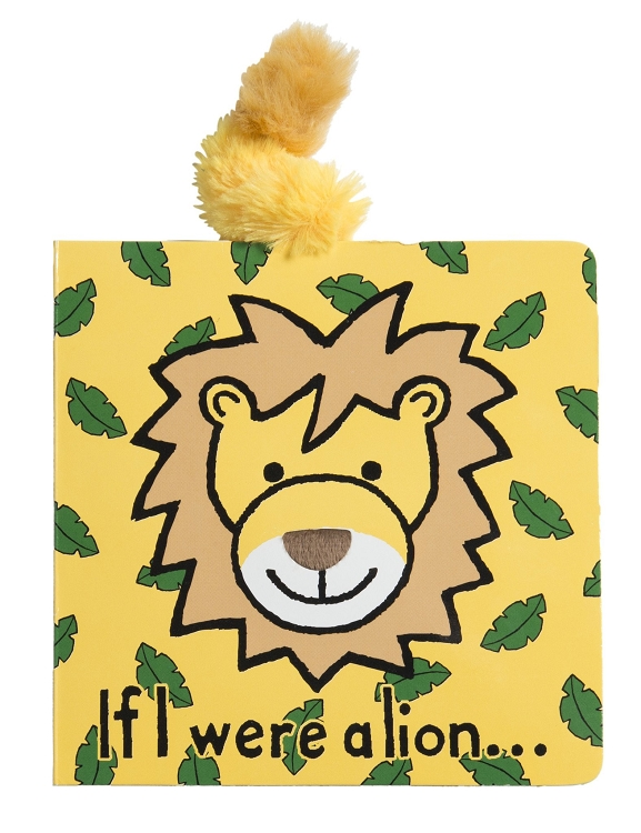 *Jellycat If I Were a Lion Book
