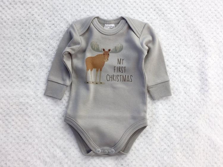 19731ae5b Itty Bitty Baby My First Christmas Onesie - Preemie Clothes Vancouver -  Preemie Clothing Maple Ridge - Lagoon Baby