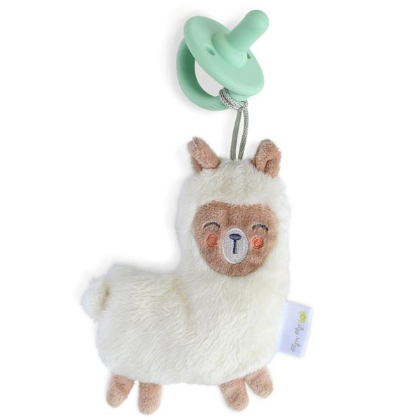 *Itzy Ritzy Sweetie Pal with Pacifier - Lane the Llama