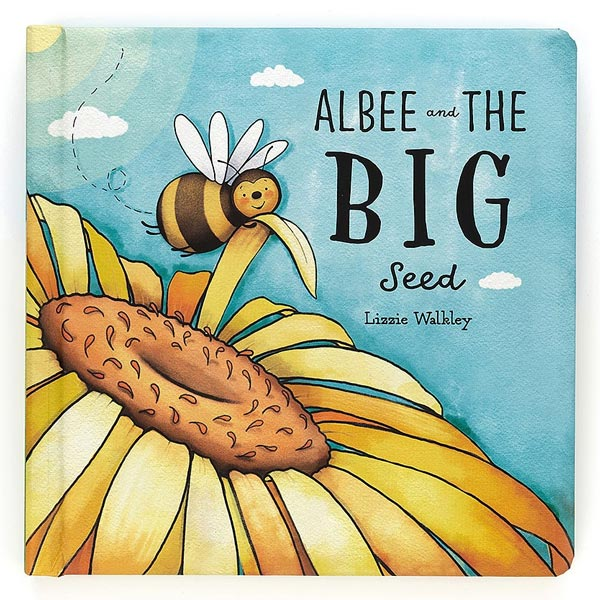 *Jellycat Albee and the Big Seed Book