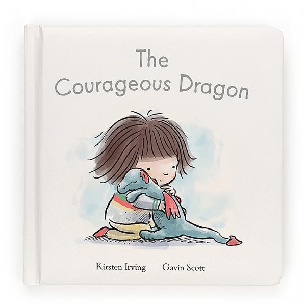 *Jellycat The Courageous Dragon Book