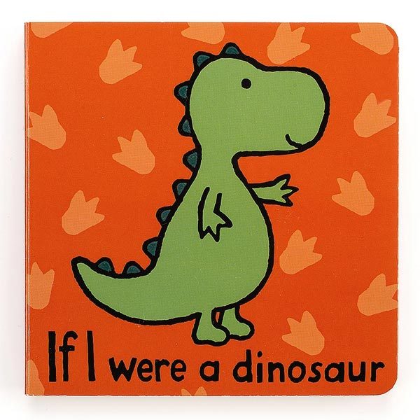 *Jellycat If I Were a Dinosaur Book