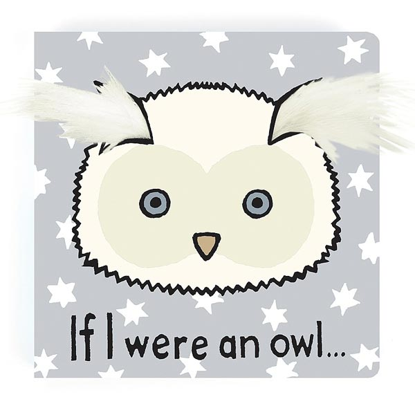 *Jellycat If I Were an Owl Book