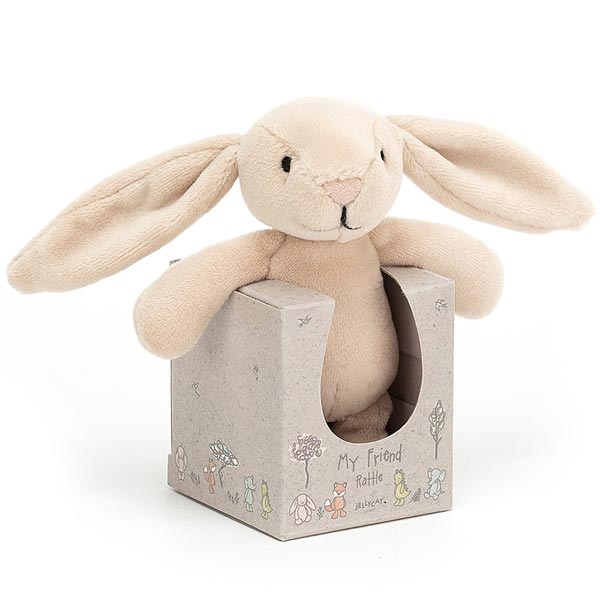 *Jellycat My Friend Bunny Rattle - 4.5