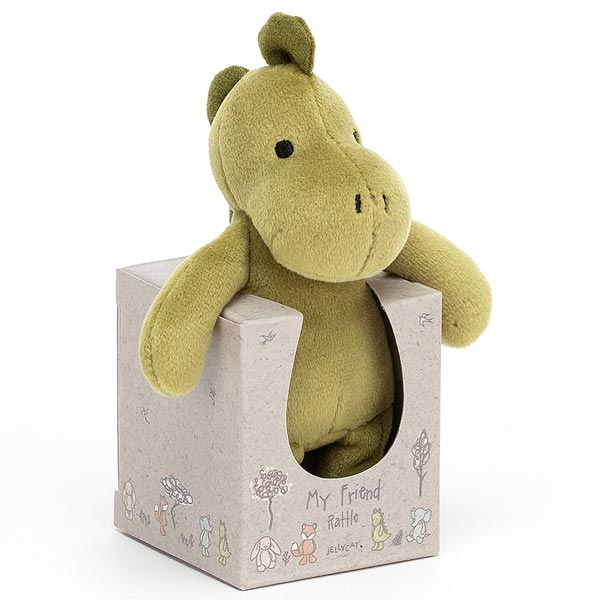*Jellycat My Friend Dino Rattle - 4.5