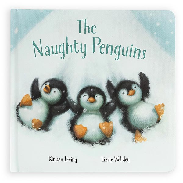 *Jellycat The Naughty Penguins Book