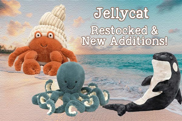 Jellycat Plush Availalbe at Lagoon Baby in Tsawwassen Mills and Maple Ridge