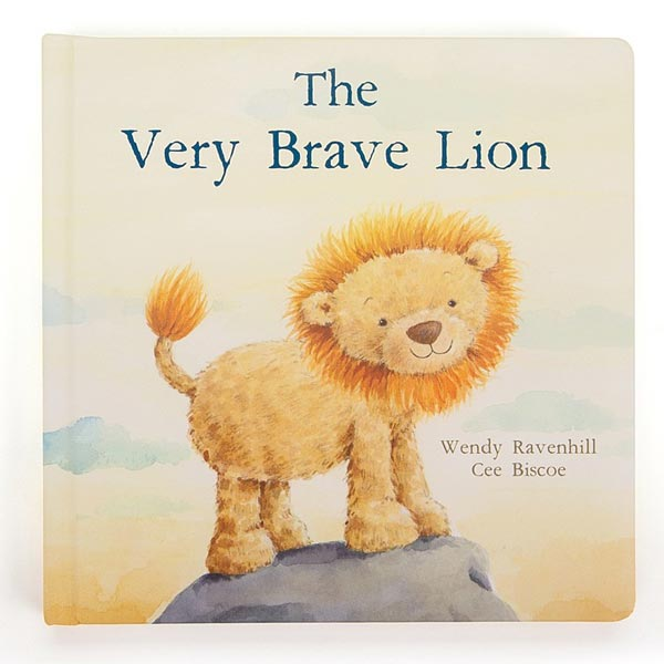 *Jellycat The Very Brave Lion Book