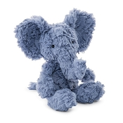 *Jellycat Squiggles Elephant (2017 BLUE) 9