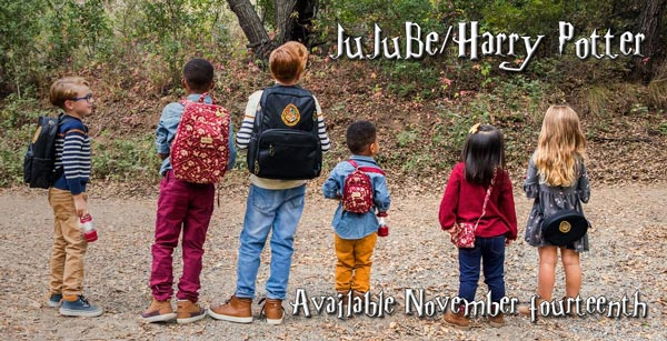 JuJuBe x Harry Potter Collaboration - Mischief Managed & Hogwarts Essential at Lagoon Baby!