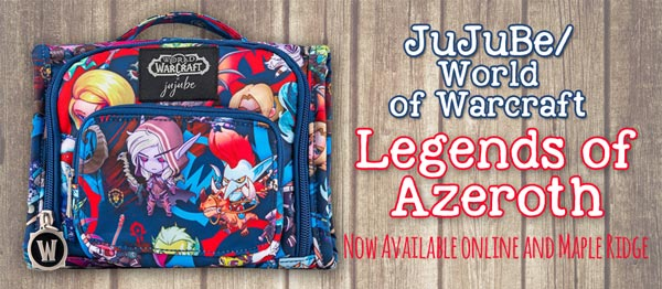 Jujube World of Warcraft - Legends of Azeroth Now Available!