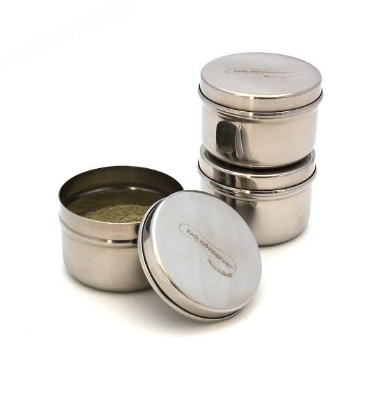 *U Konserve Stainless Steel Mini Food Containers - Set of 3