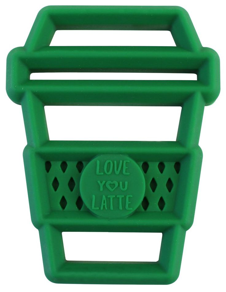*Itzy Ritzy Chew Crew Silicone Teether - Latte