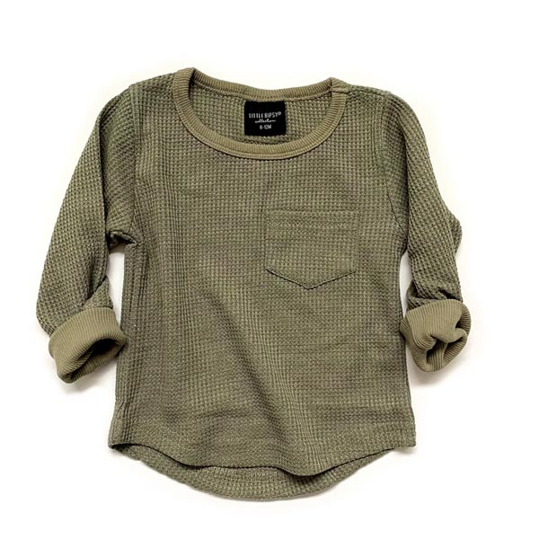 Little Bipsy Thermal Top - Pine