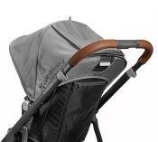 *UPPAbaby VISTA Leather Handle Bar Cover - Saddle